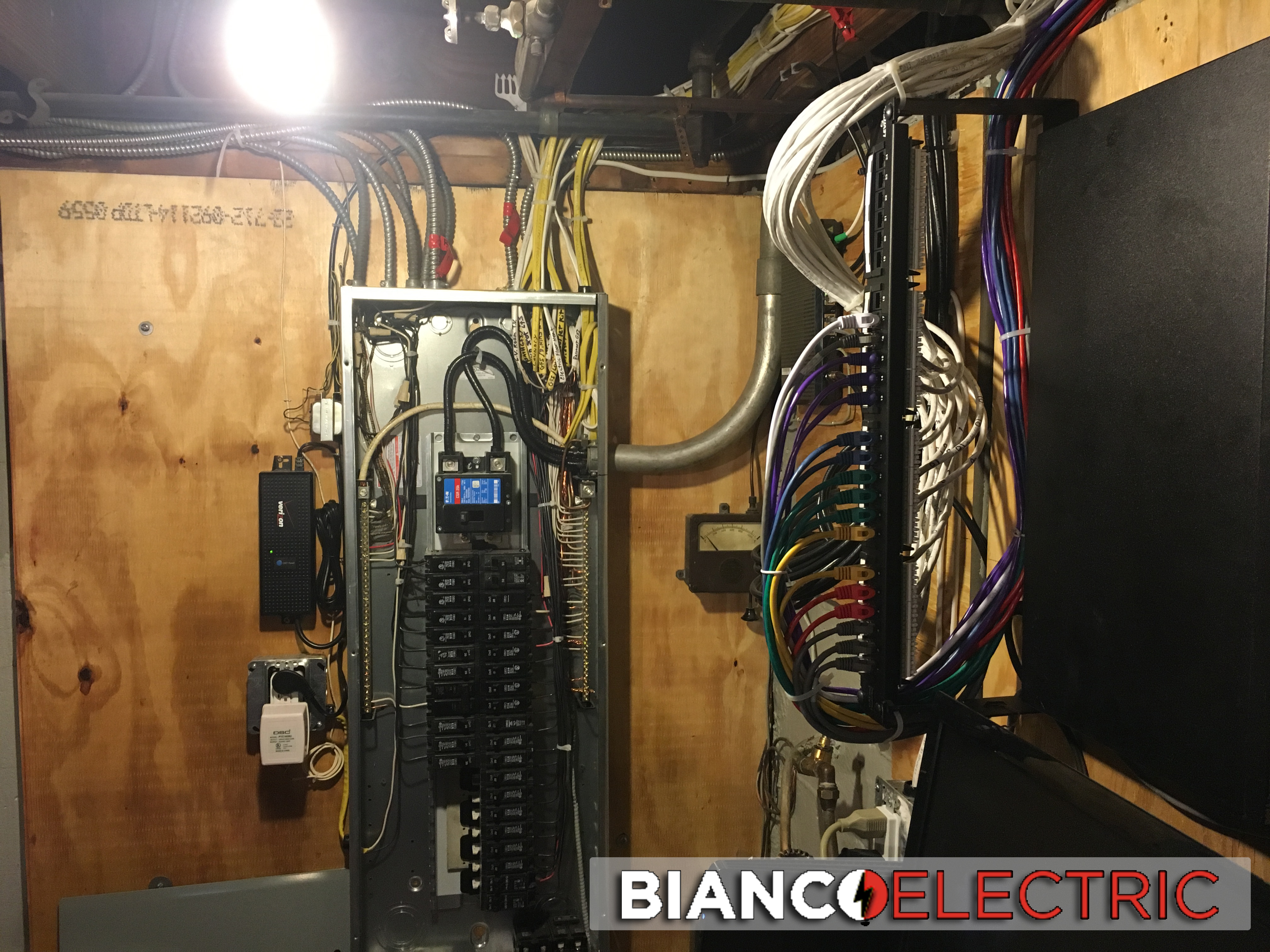 upgraded electric panel service repair