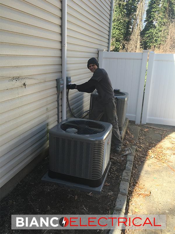 electric generator install